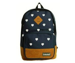 Girls Backpack Hearts