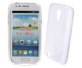 S-Line Silicone Case For Samsung Galaxy S4 Mini