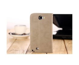 Retro Wallet Leather Cover For Samsung N7100