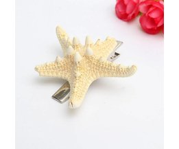 Hair Clip With Starfish