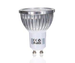 GU10 LED Spotlights With Warm White Light