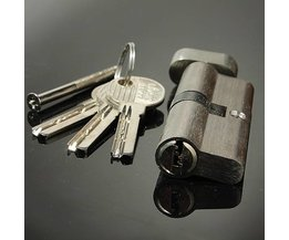 Cylinder Lock With Seven Pins For Lock Picking