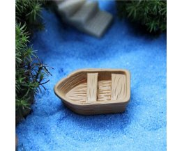 Boat As Garden Decoration