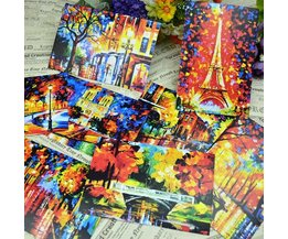 Colorful Postcard From Paris