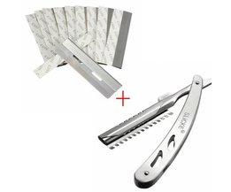 Slicke Open Razors With 10 Blades