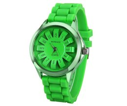 WOMAGE Sport Ladies Watch In Bright Colors