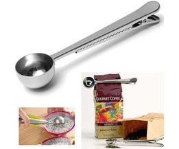 Stainless Steel Measuring Spoon For Ground Coffee With Chuck Close