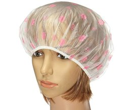 Shower Cap With Flowers