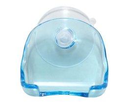 Plastic Holder For Razor In The Bathroom