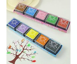 Inkpads With Colored Ink For Children