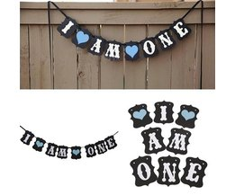 Garland With Text: