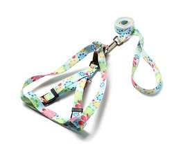 Harness With Adjustable Handle And Cute