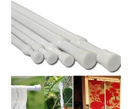 Adjustable Curtain Rails (70-124Cm)