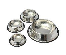 Stainless Steel Bowls Anti-Slip Dog Cat 4Maten