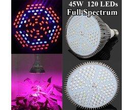 E27 LED Grow Light 45W