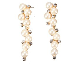 Wonderful Long Pearl Earrings