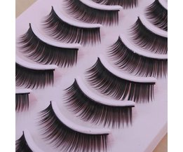 False Eyelashes 10 Pair