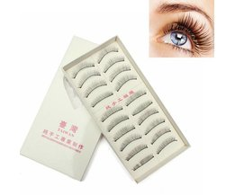 Handmade Black False Eyelashes 10 Pair