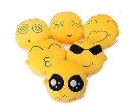 Emoticon Emoji Cartoon Cushion 20 X 20 CM