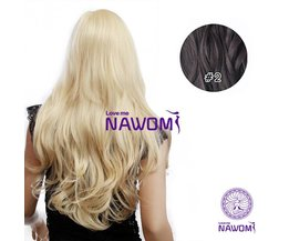 NAWOMI Black Wavy Hair Extension 7 Pieces