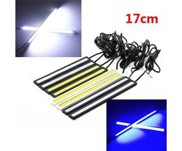 LED Running Lights Blue And White With Length 17CM