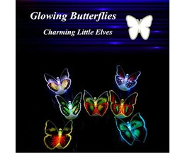 Kids Butterfly Night Light LED Color Changing