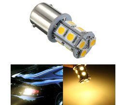 Auto LED Lamp Warm White Light