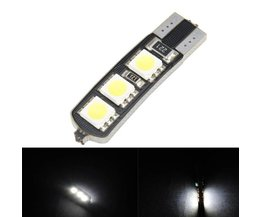 T10 LED Canbus W5W 6SMD 5050 Lamp For Car