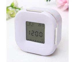 Digital LED Alarm Clock Multifunctional