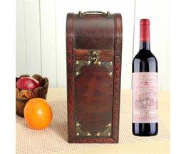 Retro Wine Box Wood