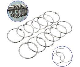 Curtain Rings Metal Per 12 Pieces