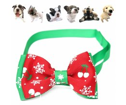 Adjustable Christmas Bow For Pet