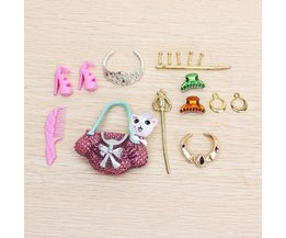 Pop Accessories Crown Necklace Earring Shoe Bag