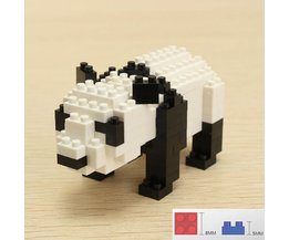 Toys Panda Self Build With Blocks