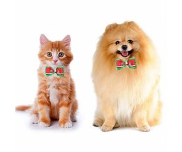 Adjustable Christmas Bow For Dog Or Cat