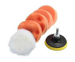 5 Polishing Pads With Holder