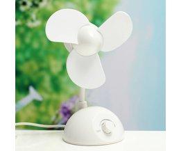 Desk Fan With USB