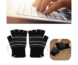 USB Gloves Half Fingers