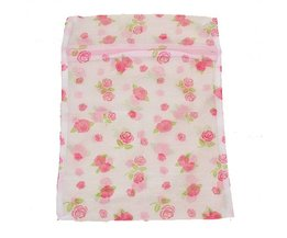 Laundry Wash Bag For Underwear With Zipper