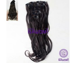 Brown Hair Extensions (7 Pieces)