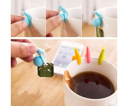 Teabags Holders Snail 5 Pieces