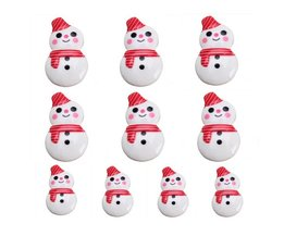 Decorative Snow For Christmas Males 10 Pieces