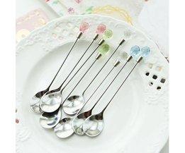 Silver Tea Spoons 2 Pieces