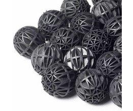 50 Pcs Black Aquarium Filter (Biological Balls)