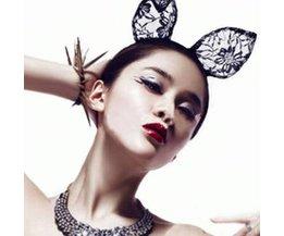 Lace Cat Ears Headband