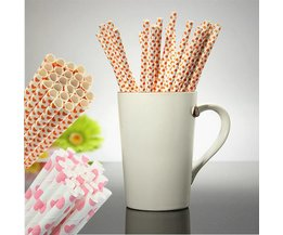 Paper Straws 25 Pieces