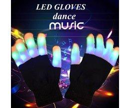 LED Gloves Pair