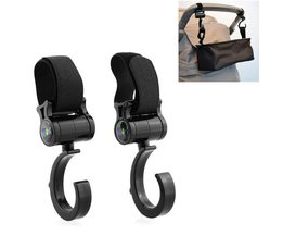 Hooks For Stroller (2 Pieces)