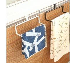 Metal Towel Rack In Two Colors