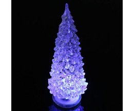 Luminous Christmas Tree In Green Or Silver